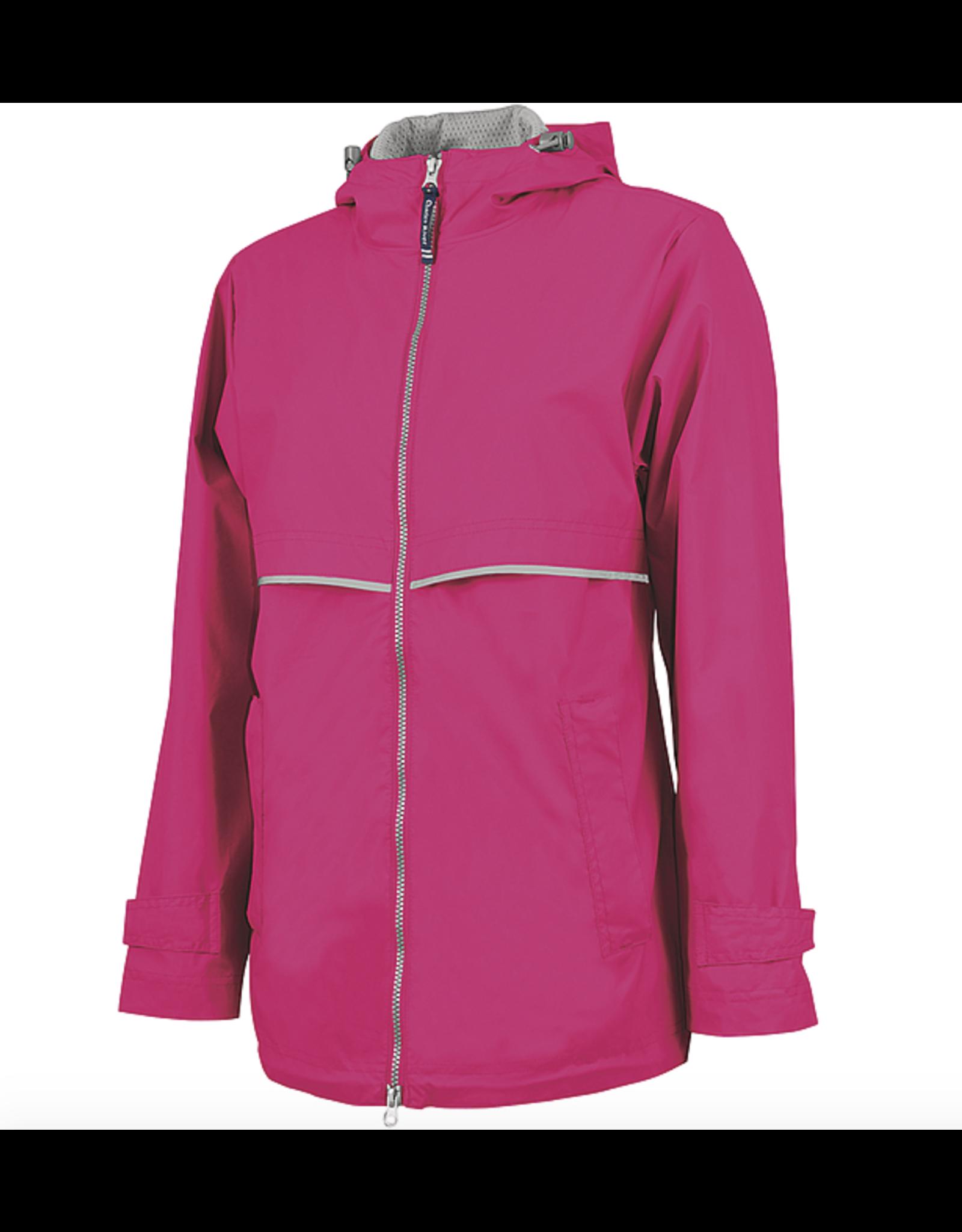 Charles River Women's Hot Pink Charles River Raincoat