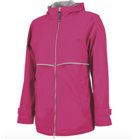 Charles River Women's Hot Pink Charles River Raincoat