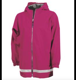 Charles River Kid's Hot Pink Raincoat