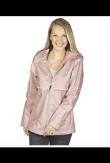 Charles River Women's Rose Gold Raincoat