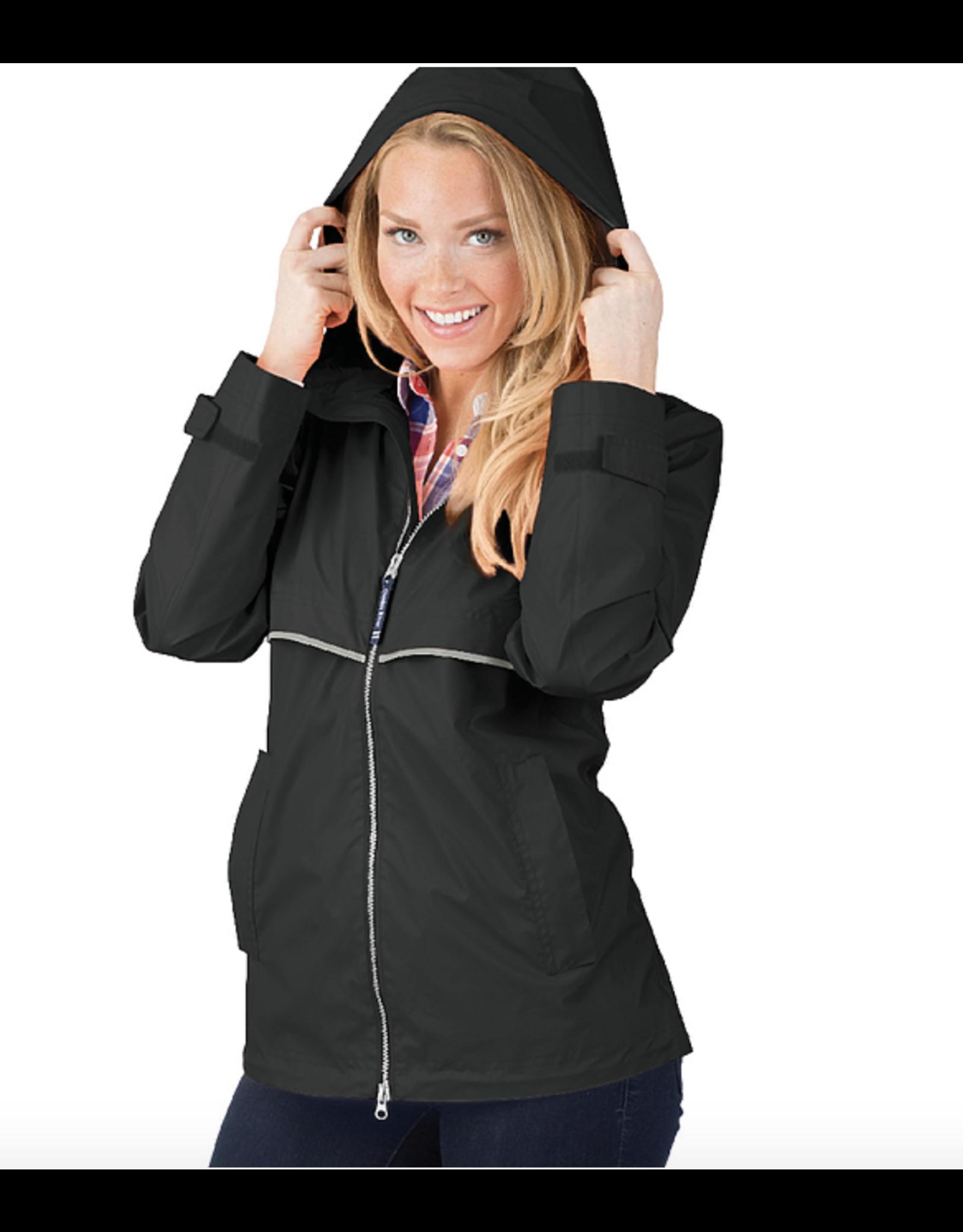 Charles River Women's Raincoat Black