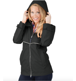 Charles River Women's Raincoat Black