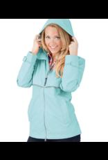 Charles River Women's Aqua Raincoat