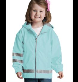 Charles River Kid's Aqua Raincoat
