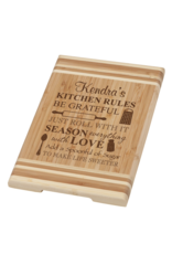 P Graham Dunn Bamboo Cutting Board 12X8 Includes Laser Engraving