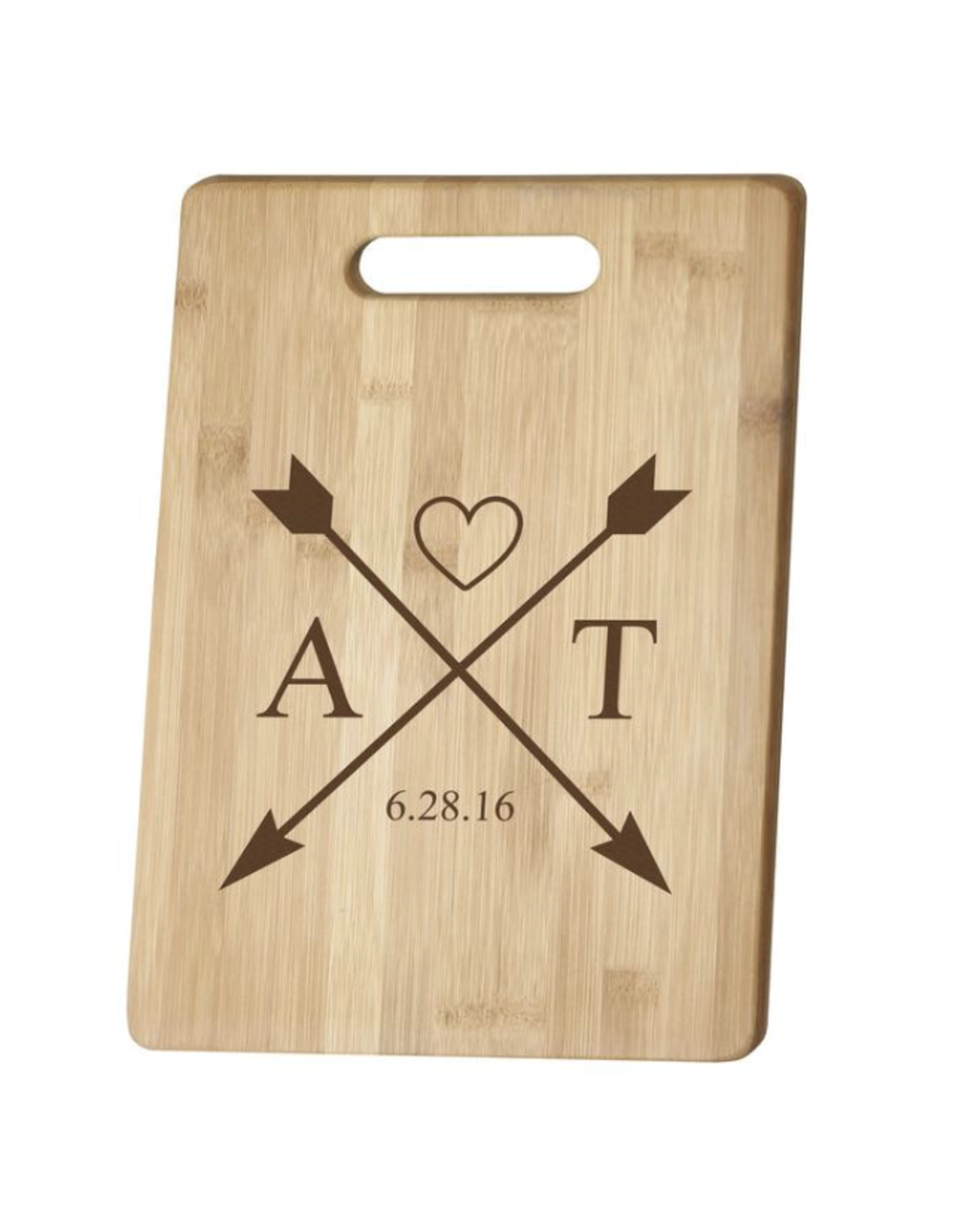 P Graham Dunn Bamboo Cutting Board 7x14 Includes Laser Engraving
