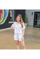 Southern Shirt Company Wildest Dreams Boxy Top Gray Ridge