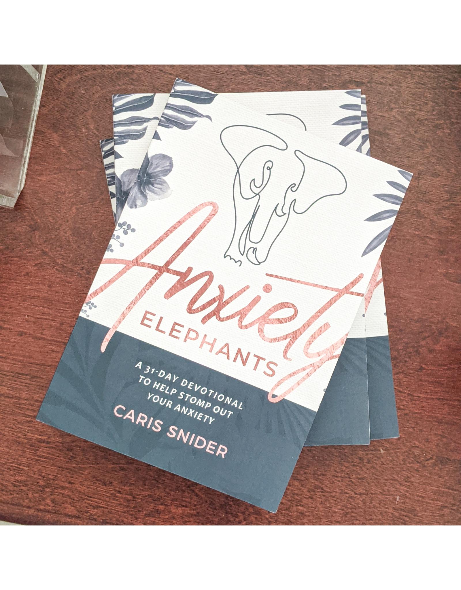 Monograms Plus Devotional Anxiety Elephants