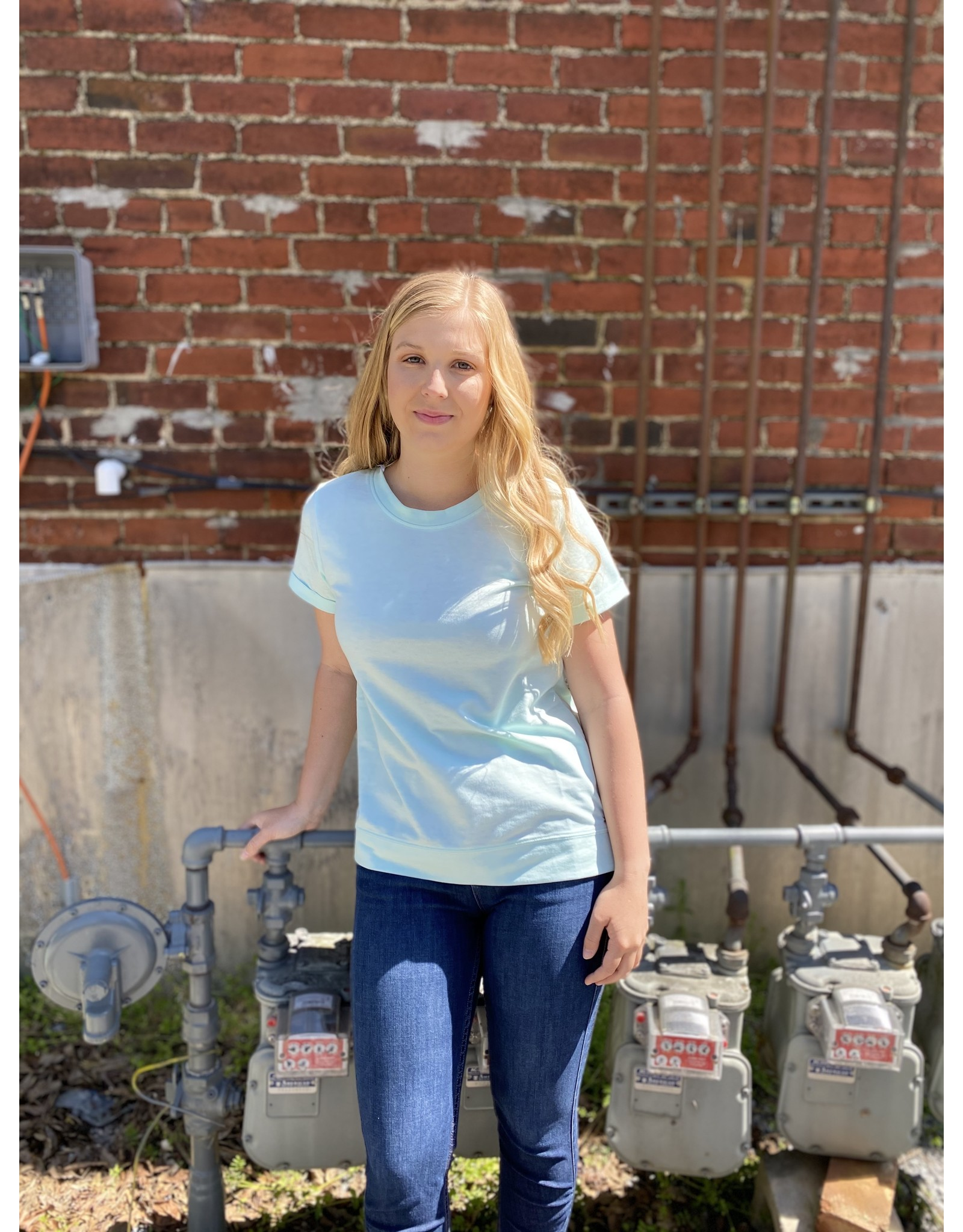 Southern Shirt Company Hangout Comfy Crew Chalky Mint