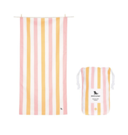 Dock & Bay Beach Towel Peach Sorbet
