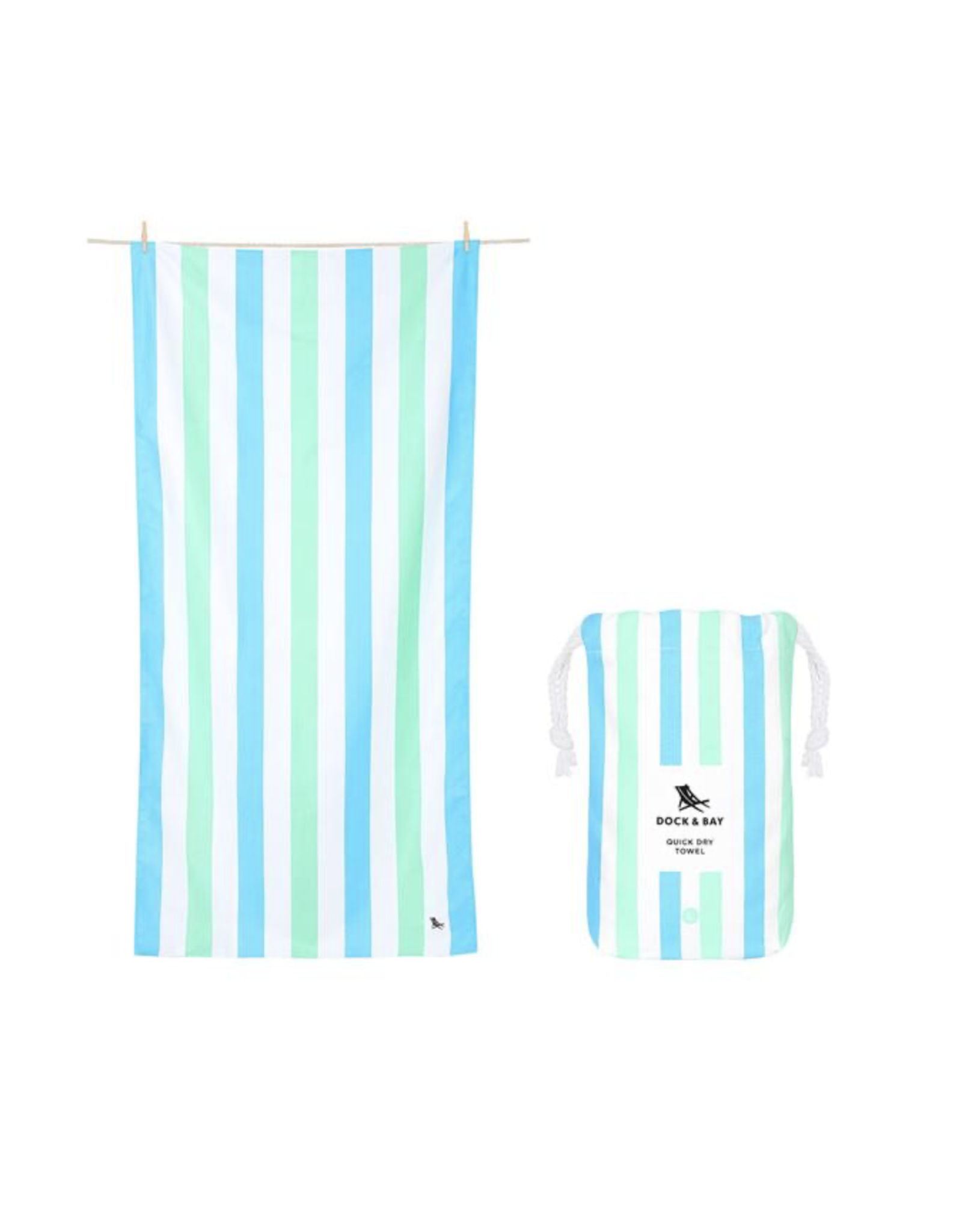 Dock & Bay Beach Towel Summer Endless Days