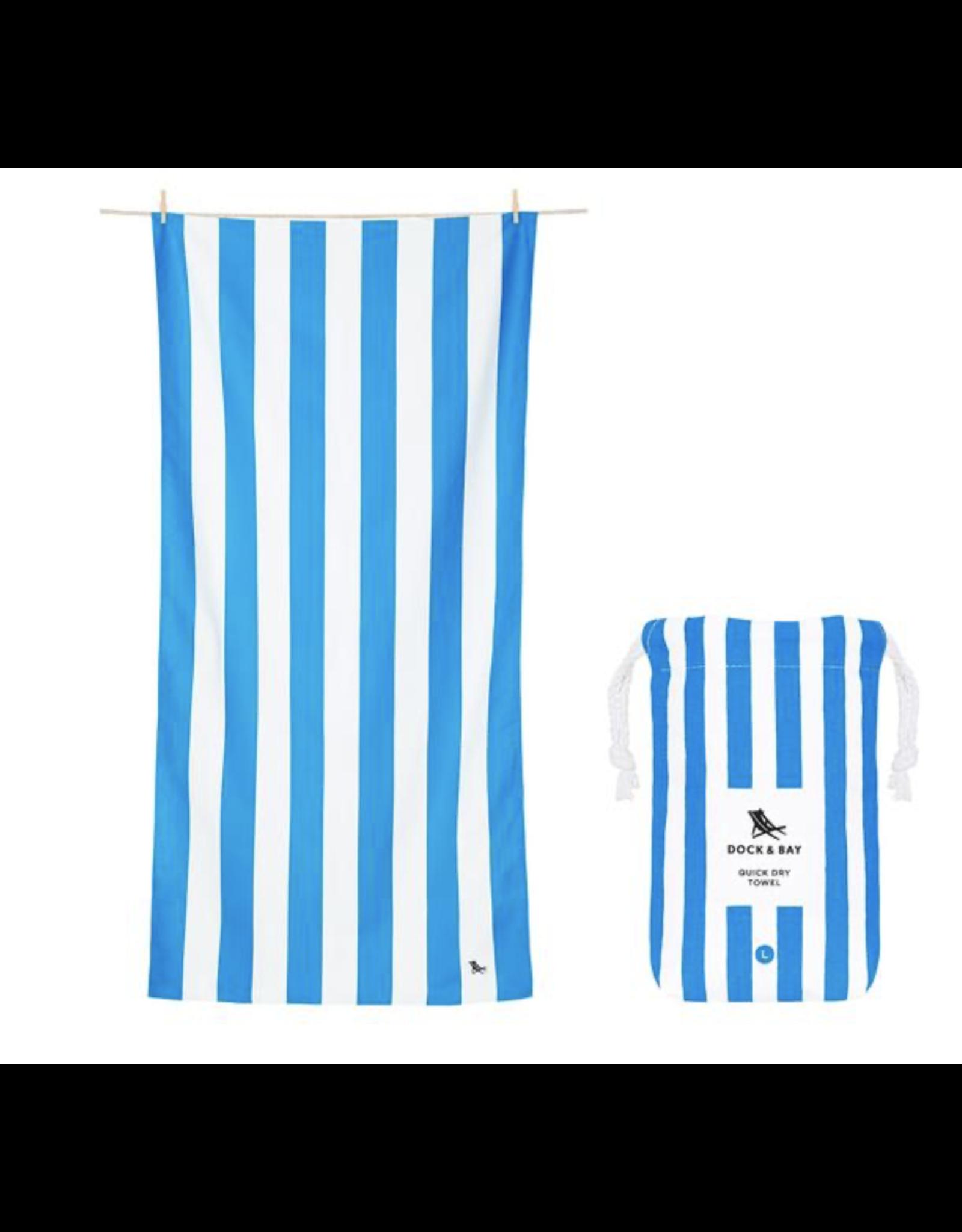 Dock & Bay Towel Cabana Bondi Blue