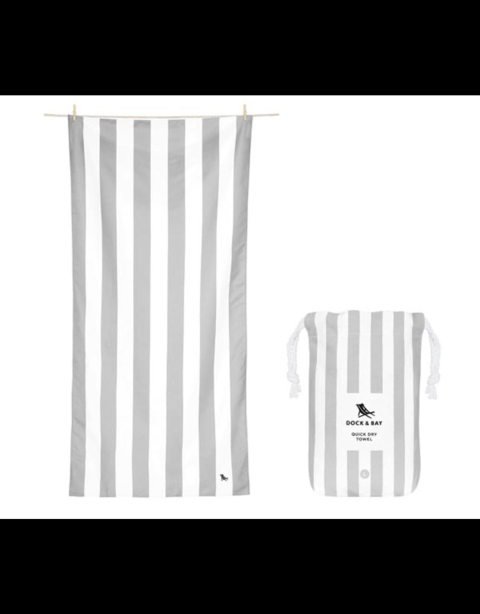 Dock & Bay Towel Cabana Goa Grey