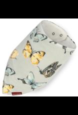 Milkbarn Kerchief Bib Bamboo Butterfly