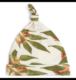 Milkbarn Knotted Hat Organic 3-6M Peaches
