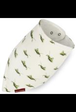 Milkbarn Kerchief Bib Organic Grasshopper