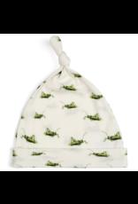 Milkbarn Knotted Hat Organic 3-6M Grasshopper