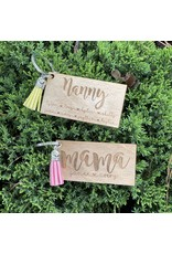 Monograms Plus Mother's Day Personalized Keychain