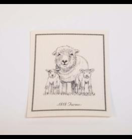 1818 Farms Dishcloth Lulu & Twins