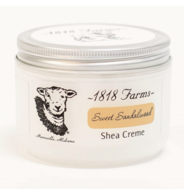 1818 Farms Shea Creme Sweet Sandalwood LG