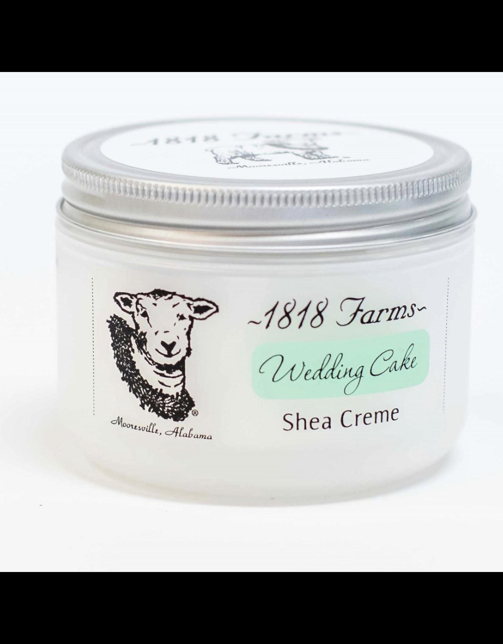 1818 Farms Shea Creme Wedding Cake 4 OZ