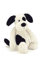 Jelly Cat Puppy Bashful Black & Cream LG