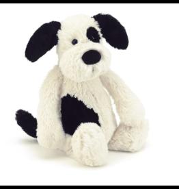 Jelly Cat Puppy Bashful Black & Cream LG