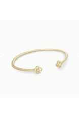 Kendra Scott Bracelet Rue Pinch Cuff Gold Metal