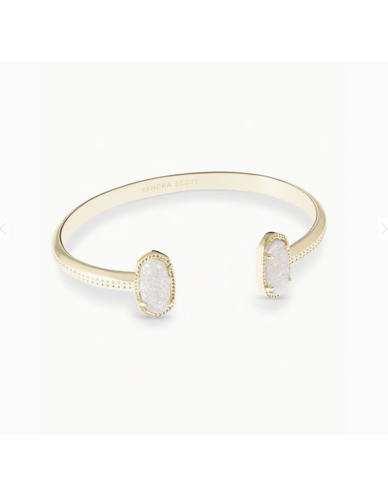 Kendra Scott Bracelet Elton Gold Iridescent Drusy