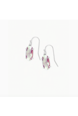 Kendra Scott Earring Lemmi RHOD Iridescent Drusy