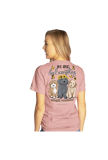 Simply Southern Adult SS Tee Kisses Crepe