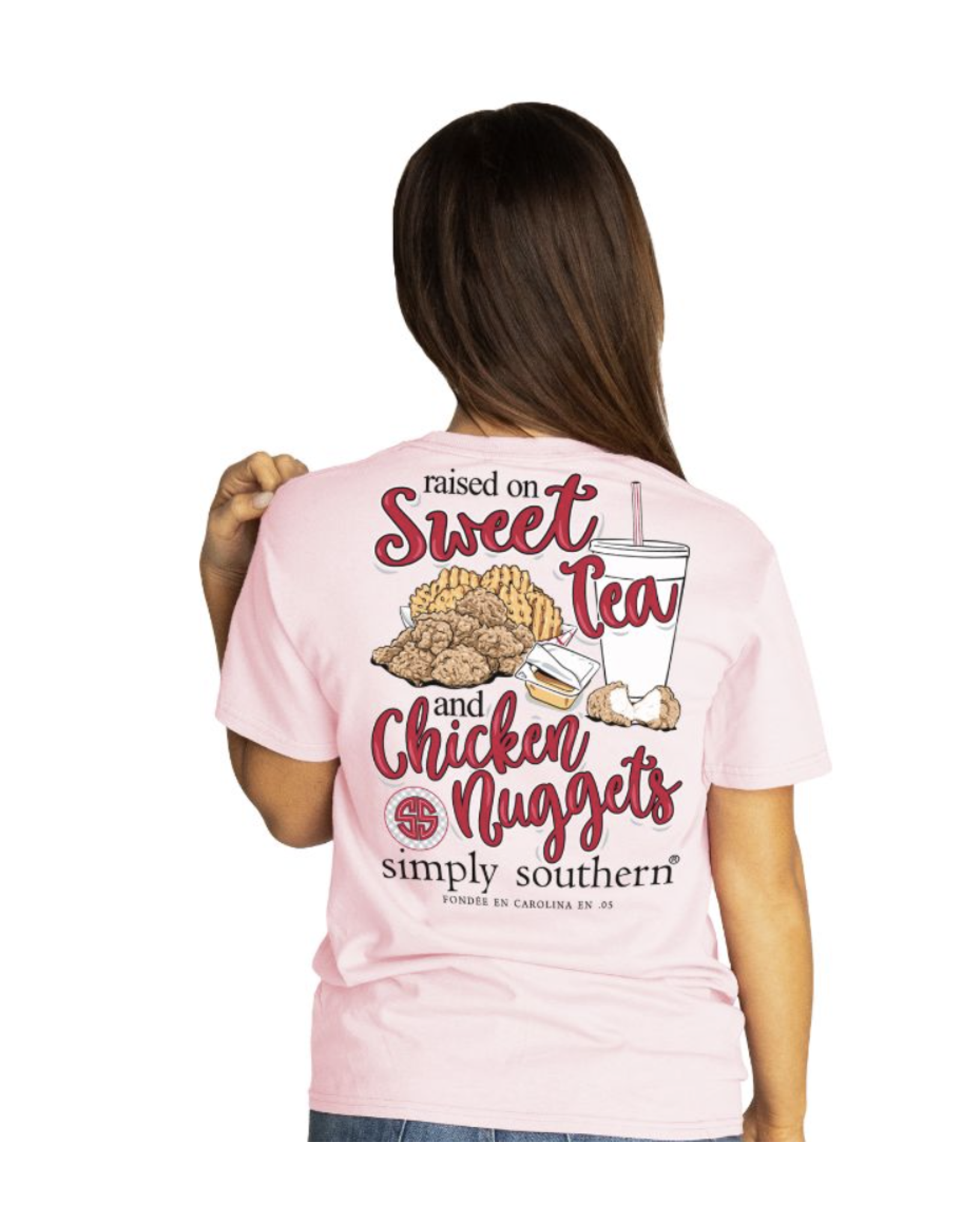 Simply Southern Adult SS Tee Nugget Lulu
