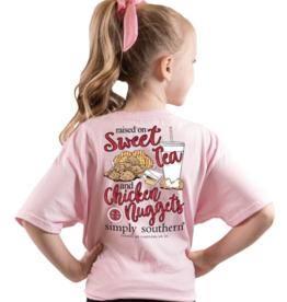 Simply Southern Youth SS Tee Nugget Lulu