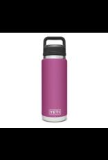 Yeti Rambler 26 Bottle Chug Prickly Pear Pink