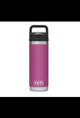 Yeti Rambler 18 Bottle Chug Prickly Pear Pink
