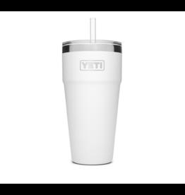 Yeti Rambler 26 Straw Cup White