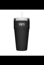 Yeti Rambler 26 Straw Cup Black