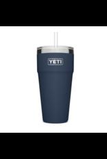 Yeti Rambler 26 Straw Cup Navy