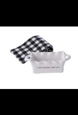 Mud Pie Mini Loaf Circa Always w/ Towel