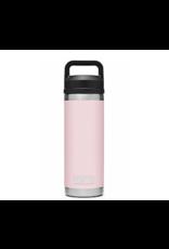 Yeti Rambler 18 Bottle Chug Ice Pink