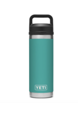 Yeti Rambler 18 Bottle Chug Aquifer Blue