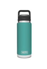 Yeti Rambler 26 Bottle Chug Aquifer Blue