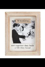 Mud Pie Magnet Frame Wedding