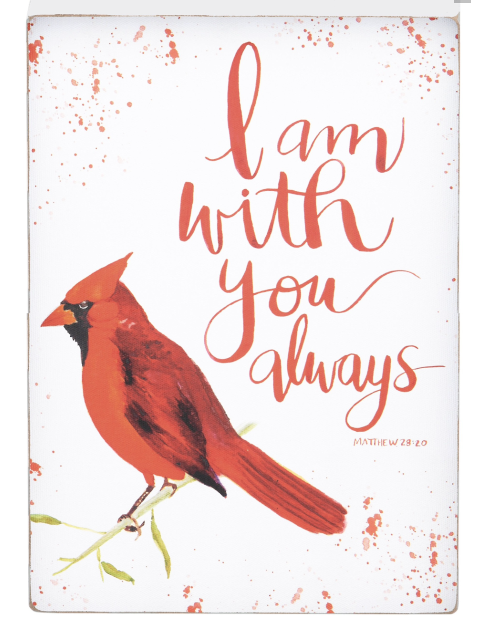 Glory Haus Red Bird With You Always Block