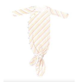 Copper Pearl Gown Knotted Rainee Newborn
