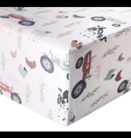 Copper Pearl Crib Sheet Jo Premium