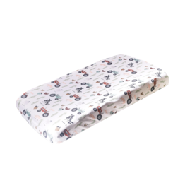 Copper Pearl Diaper Changing Pad Cover Jo