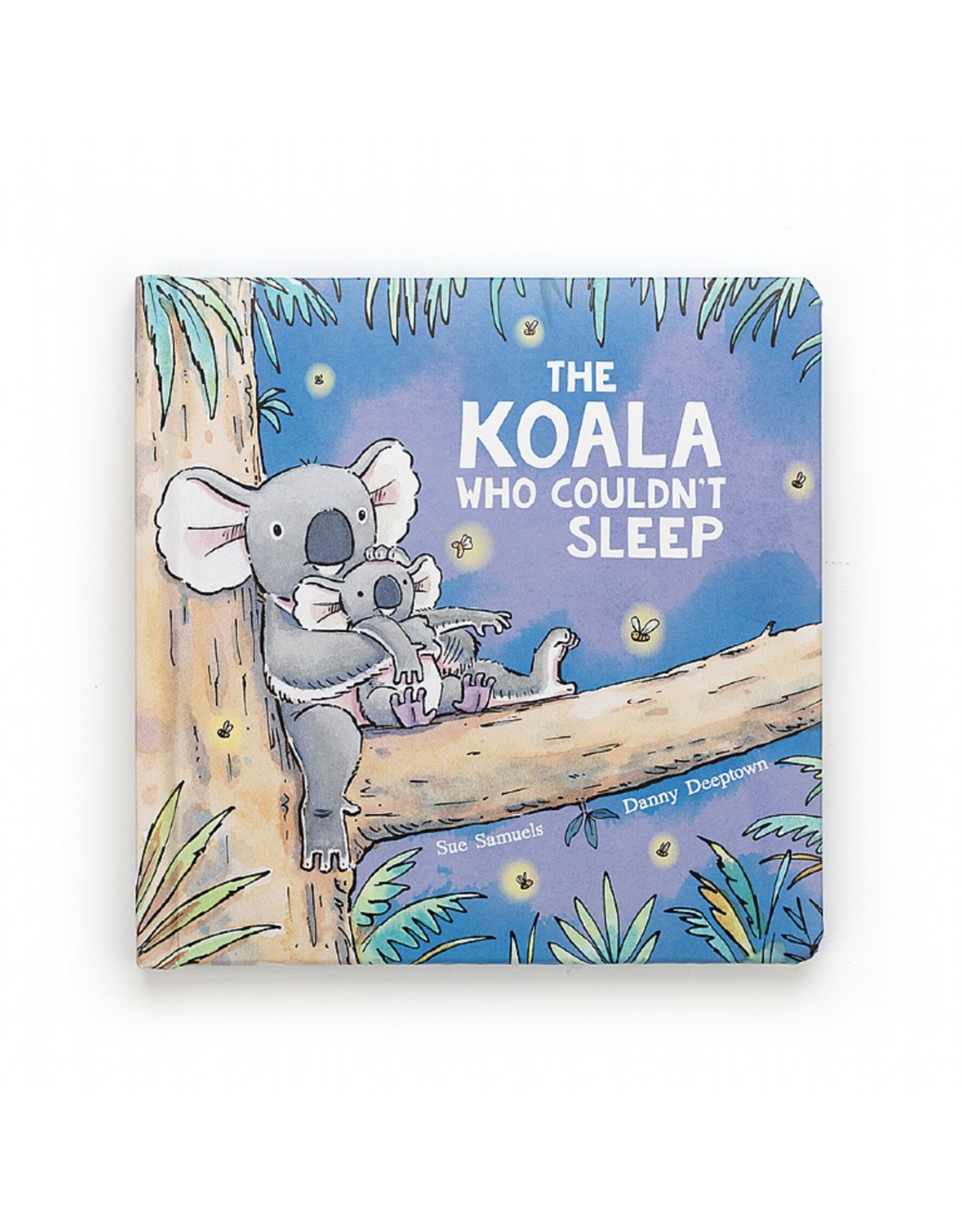 Jelly Cat Book The Koala Who Couldn't Sleep