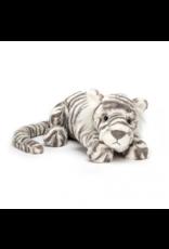 Jelly Cat Sacha Snow Tiger Little