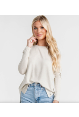 Southern Shirt Company Sincerely Soft Heather Fleece Oxford Tan